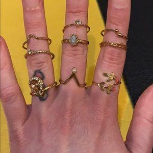 9 pack of rings